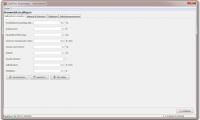 Stammdaten - Speichern Sie die Vorgaben ( überschreibbare Vorschlagswerte ) für ihre Kalkulationen ab.