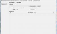 Import-Bereich für XML-Dateien aus Lexware