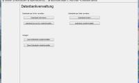 Datenbankverwaltung z.B. für Back-Ups, Archive, Demo-Dateien